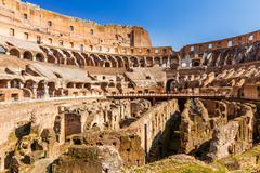 Stock Photo of Coliseum in Rome