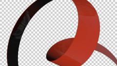 Stock Video Footage of 3D Transparent Arrow Ver-06