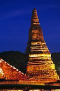 Wat Chaiwatthanaram, Thailand Stock Photos