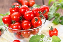 Stock Photo of fresh cherry tomatoes