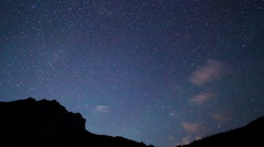 Starry Night. Pamir, Tajikistan. 1280x720 Stock Footage