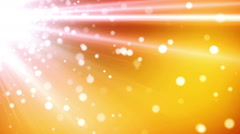 Glowing Particles Background - stock footage