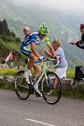 The Cyclist Paolo Longo Borghini Stock Photos