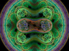 Bacteria background render Piirros