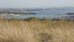 Portsmouth Harbour, Pan Stock Footage
