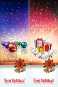 Abstract celebration greetings with christmas illustrative elements Stock Illustration