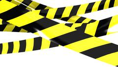 Barrier tape. Stock Illustration