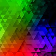 Triangle abstract vector background illustration Stock Illustration