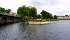 Carrick-on-Shannon County Leitrim, Ireland Stock Footage