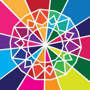 Abstract colourful design Stock Illustration