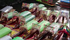 Mexico DF Xochimilco Stock Footage