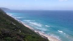 Coast Albany in western Australia Stock Footage