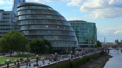 London City Hall - stock footage