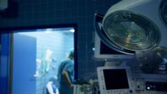 Hospital Surgery room - stock footage
