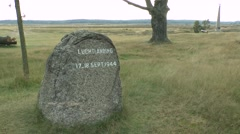 """Luchtlanding"" (Airborne) Memorial at Ginkelse Heide, near Arnhem, Netherlands. Stock Footage"