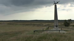 Dove of Peace Airborne Memorial at Ginkelse Heide, near Arnhem, Netherlands. Stock Footage