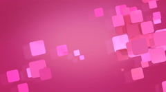 pink rectangular shapes flashing - stock footage