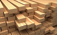 Stock Illustration of closeup wooden boards. illustration about construction materials