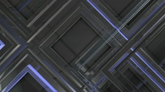 Vitreous frames moving zoom in Stock Footage
