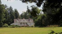 Carl Sandburg historic home Flat Rock, NC Stock Footage