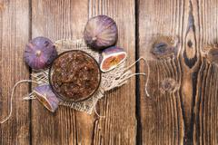 fig jam - stock photo
