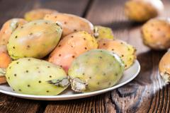 Stock Photo of portion of prickly pears