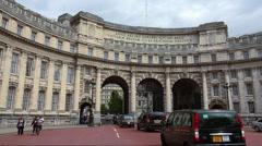 Anno Decimo Edwardi Admiralty Arch London Stock Footage