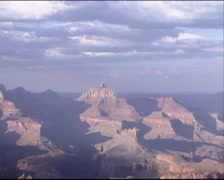 GRAND CANYON view from east rim drive - zoom out Stock Footage