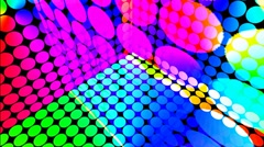 Multi Color Looping Background Stock Footage