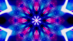 Cosmic Blue Vortex VJ Loop - stock footage