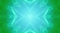 Blue Green VJ Loop Abstract Stock Footage