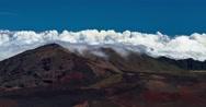 Stock Video Footage of 4k timelapse of haleakala volcano, hawaii