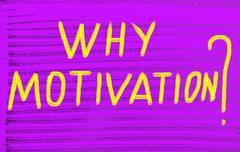 Stock Illustration of why motivation?