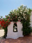 Mediterranean draw-well Stock Photos