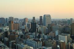 Stock Photo of tokyo cityscape, japan