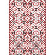 Embroidery. Ukrainian national ornament - stock illustration