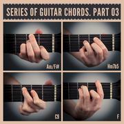 Guitar chords Stock Illustration