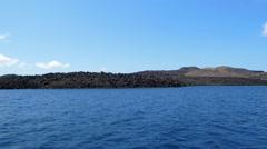 Desert Lava Island Stock Footage