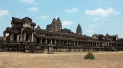 Timelapse 1080p: People in Angkor Wat, Siem Reap, Cambodia Stock Footage