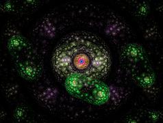 Luminous bakteerit Piirros