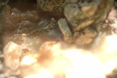 Polluted River time lapse tilt shift  star filter time lapse long shutter 6K Stock Footage