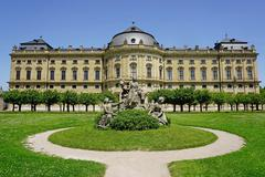 The residence palace, unesco world heritage site, wurzburg, bavaria, germany, Stock Photos