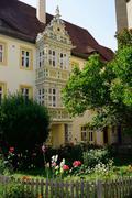 Rothenburg ob der tauber, romantic road, franconia, bavaria, germany, europe Stock Photos