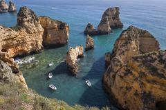 Ponta da piedade, lagos, algarve, portugal, europe Stock Photos