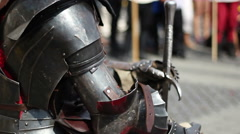 Middle Ages Knight Stock Footage