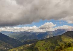 Andes Mountains, Aerial View, South America - stock photo