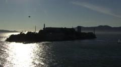 Alcatraz North Side - stock footage