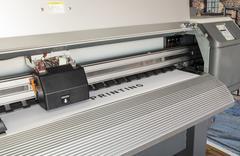 Ecosolvent printer Stock Photos