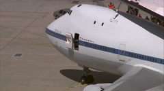 Shuttle Endeavour Los Angeles - stock footage