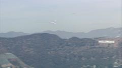 Endeavour Shuttle Sky - stock footage
